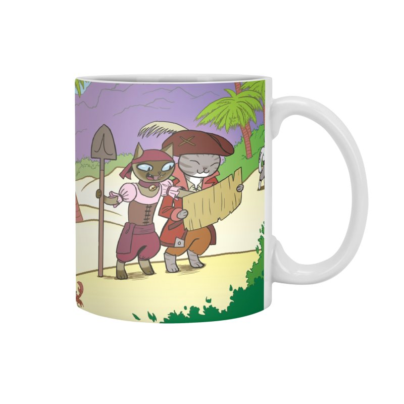 Pirates of the Cat-ribbean Accessories Mug by The Transypoo Tee Shirt Shop!