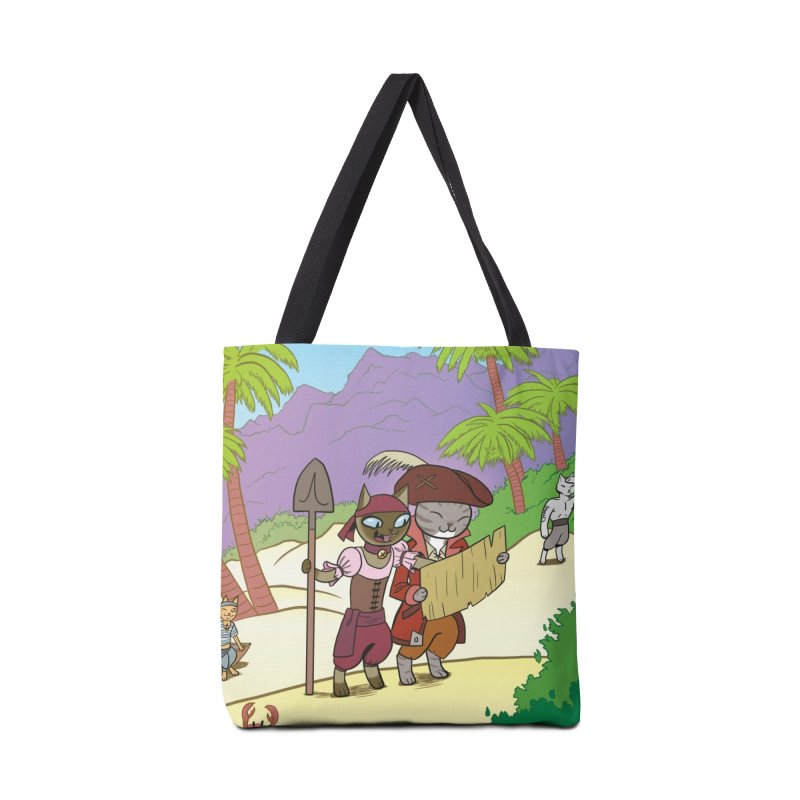 Pirates of the Cat-ribbean Accessories Bag by The Transypoo Tee Shirt Shop!