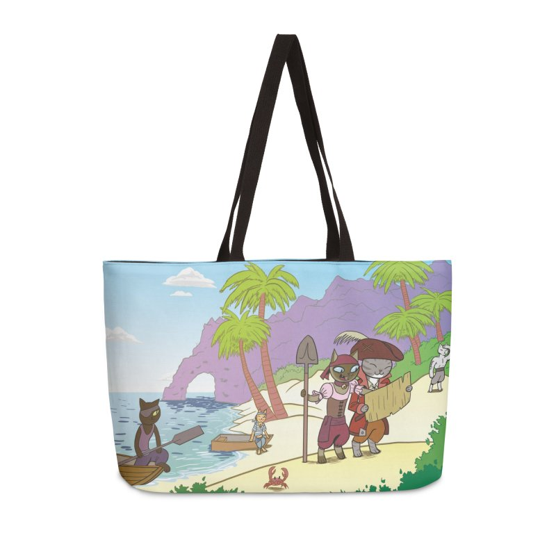 Pirates of the Cat-ribbean Accessories Weekender Bag Bag by The Transypoo Tee Shirt Shop!