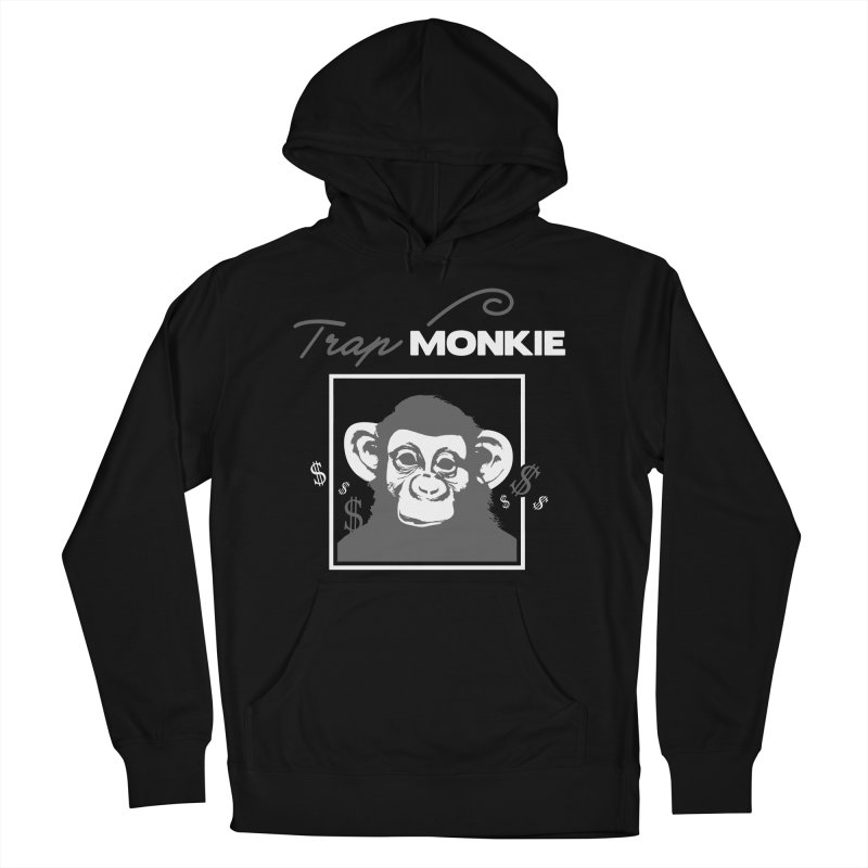 TRAP MONKIE1 Men's Pullover Hoody by TrapMonkie