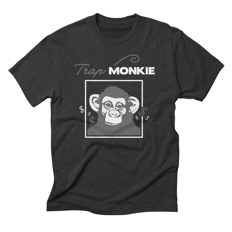 TRAP MONKIE1 Men's Triblend T-Shirt by TrapMonkie