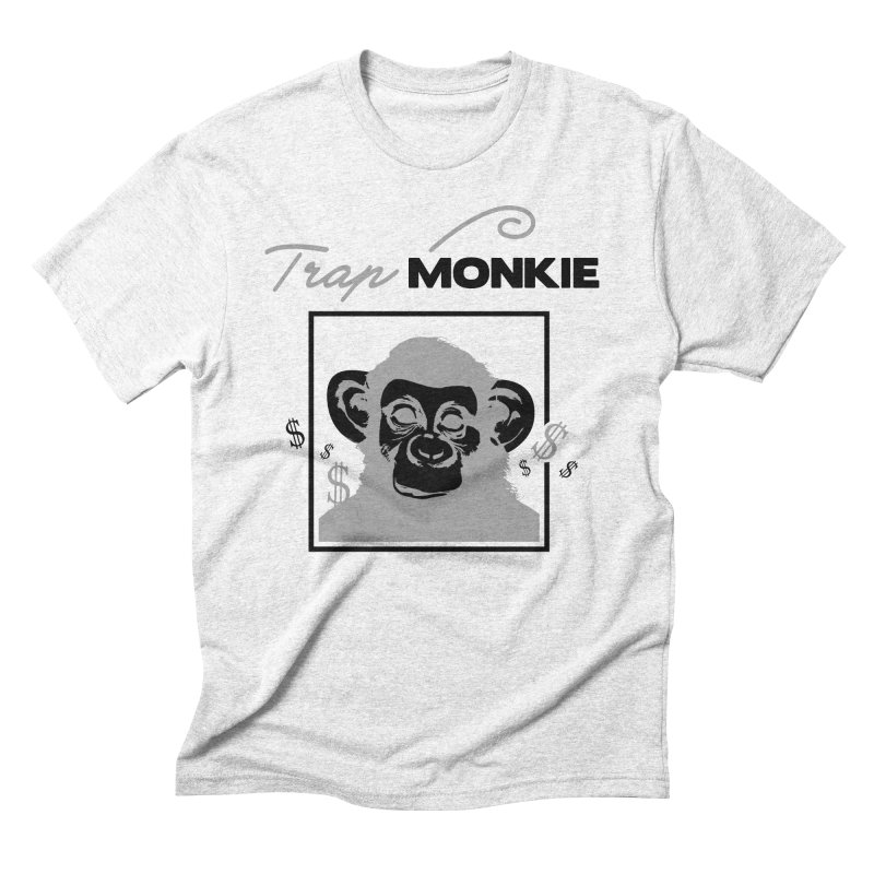 TRAP MONKIE2 Men's Triblend T-shirt by TrapMonkie