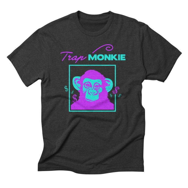 TM2 Men's Triblend T-shirt by TrapMonkie