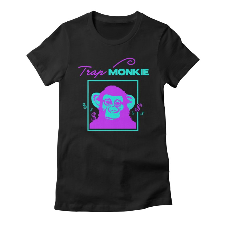 TM2 Women's Fitted T-Shirt by TrapMonkie