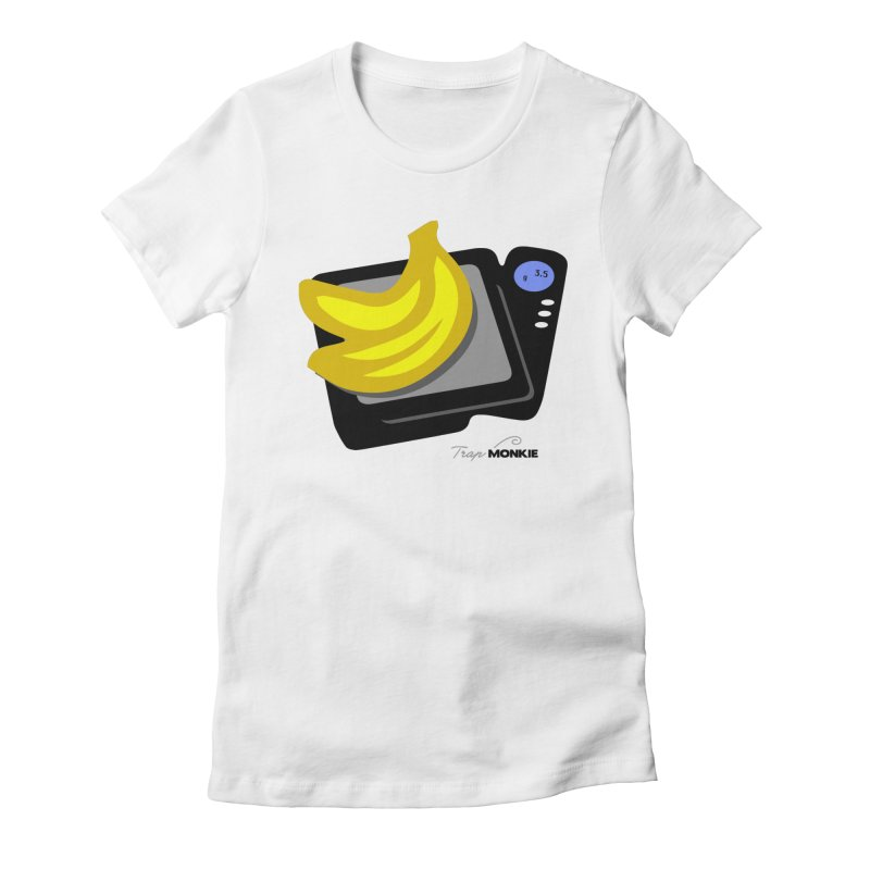 NANAS Women's Fitted T-Shirt by TrapMonkie