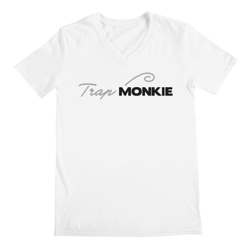 TM Men's V-Neck by TrapMonkie