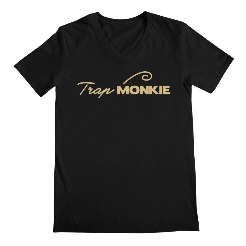 TM Men's V-Neck by TrapMonkie