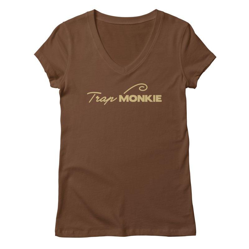 TM Women's V-Neck by TrapMonkie