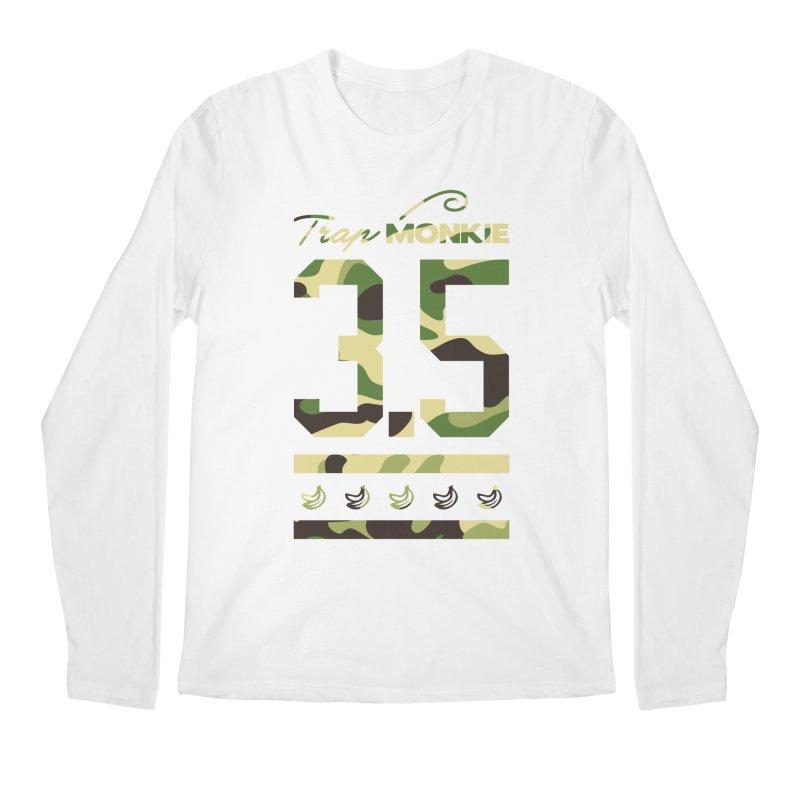 3POINT5 Men's Longsleeve T-Shirt by TrapMonkie