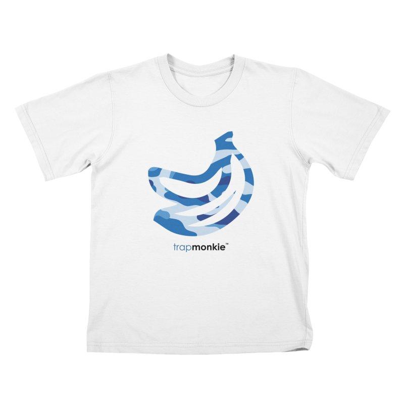 CAMO1 Kids T-Shirt by TrapMonkie