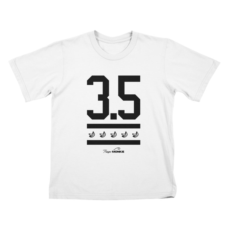 3POINT5 Kids T-shirt by TrapMonkie