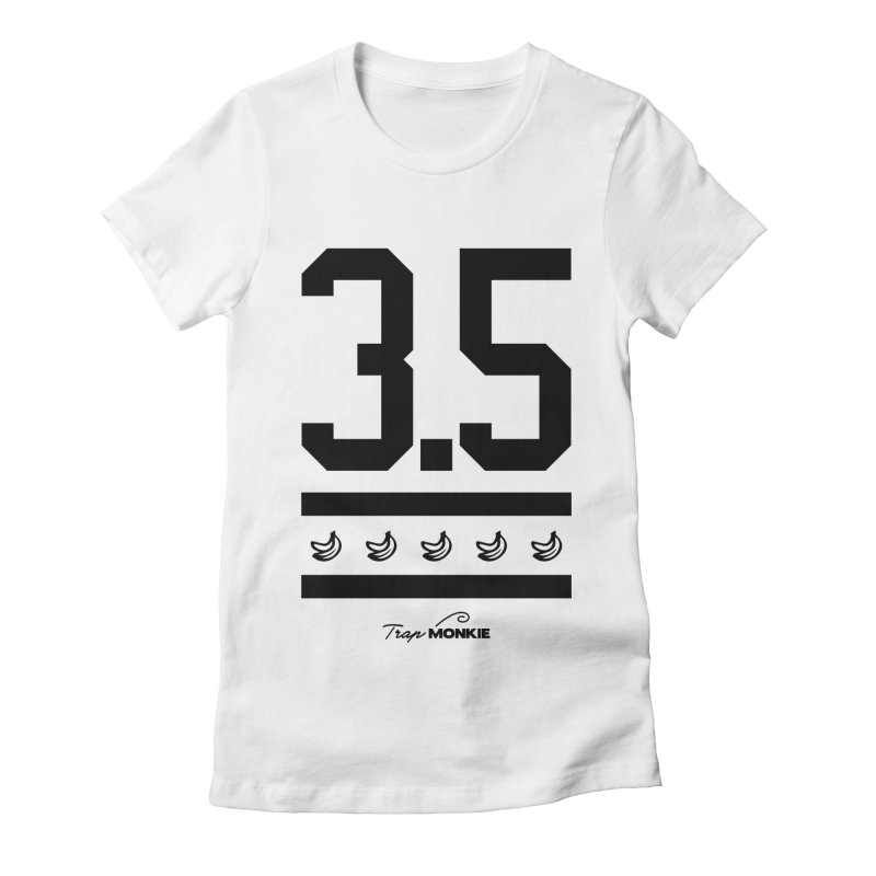 3POINT5 Women's Fitted T-Shirt by TrapMonkie