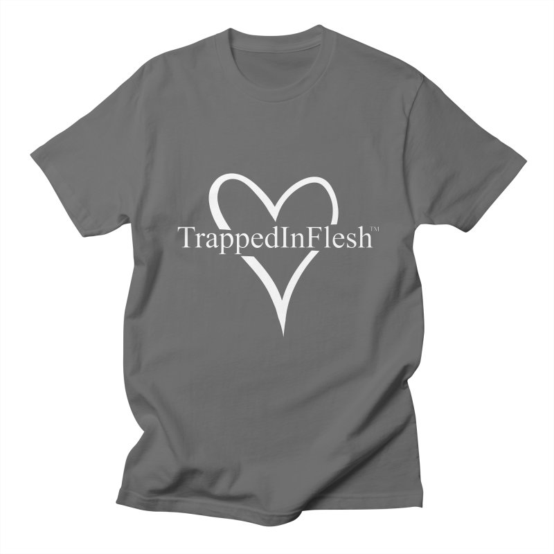 TrappedInFlesh™ Heart Logo Men's T-Shirt by TrappedInFlesh™