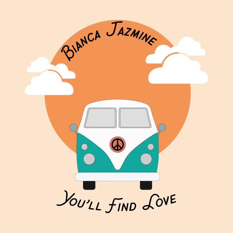 You'll Find Love Tour Bus Men's T-Shirt by Bianca Jazmine's Shop