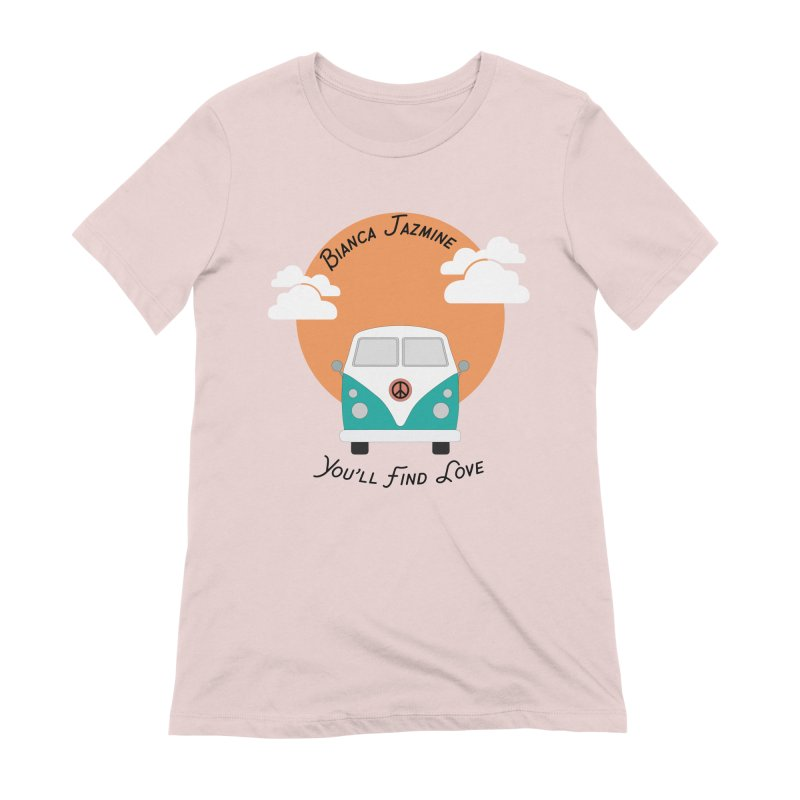 You'll Find Love Tour Bus Women's Extra Soft T-Shirt by Bianca Jazmine's Shop