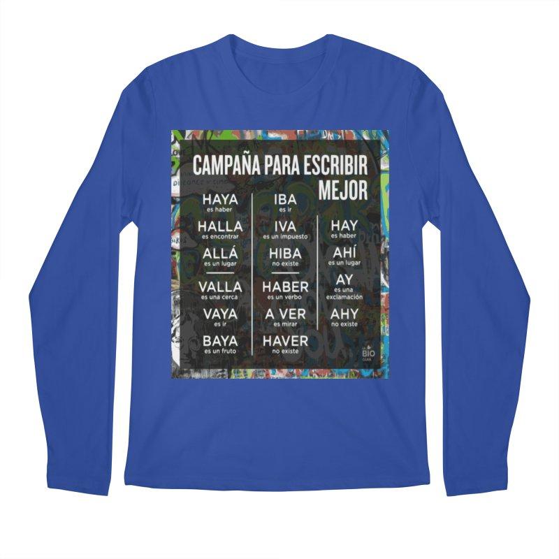 Escribir Mejor Men's Longsleeve T-Shirt by TravsTs