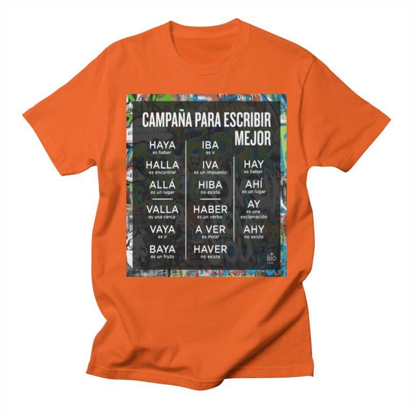 Escribir Mejor Men's T-Shirt by TravsTs