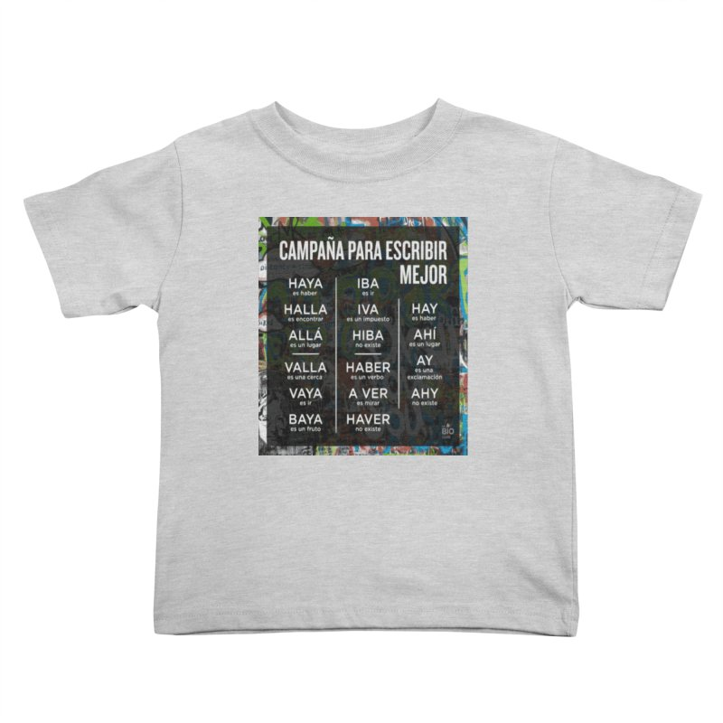 Escribir Mejor Kids Toddler T-Shirt by TravsTs