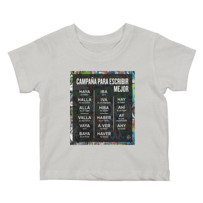 Escribir Mejor Kids Baby T-Shirt by TravsTs