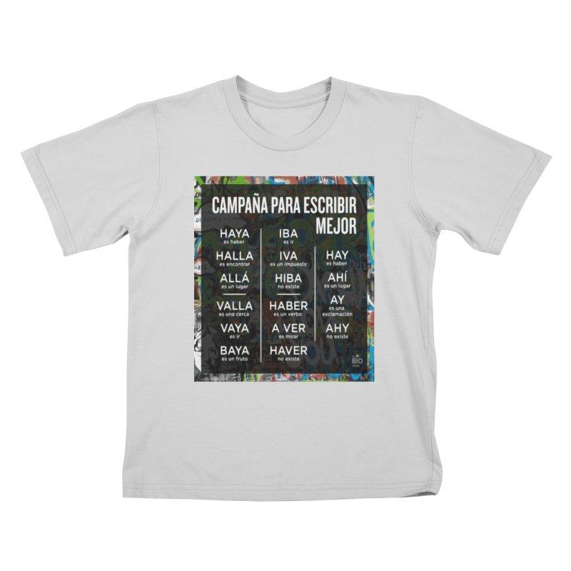 Escribir Mejor Kids T-Shirt by TravsTs