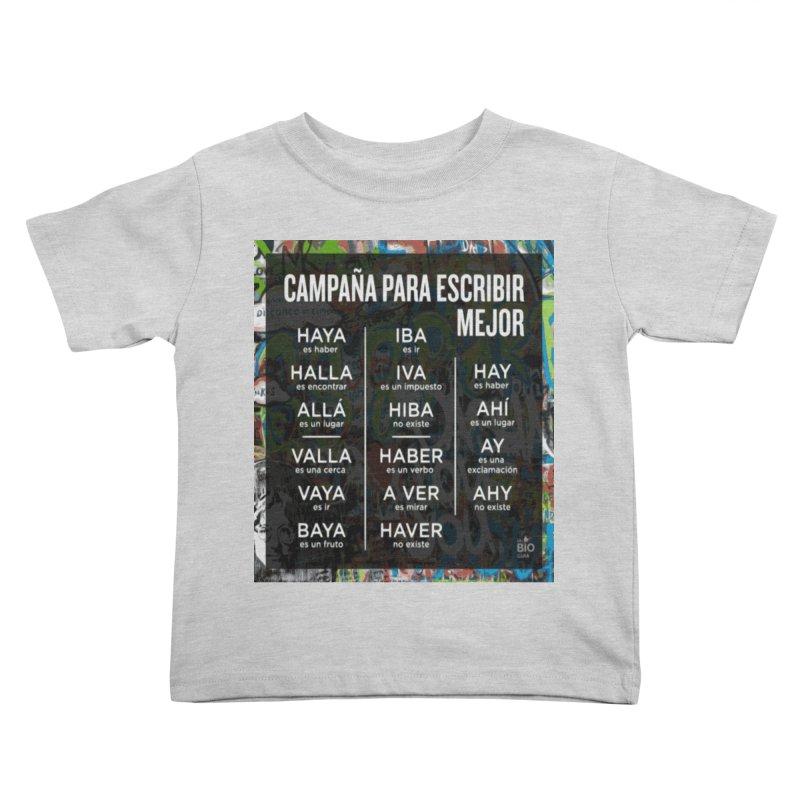 Escribir Mejor Kids Toddler T-Shirt by TravsTs