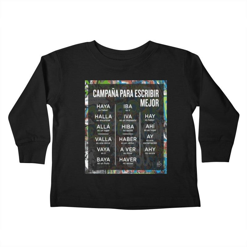 Escribir Mejor Kids Toddler Longsleeve T-Shirt by TravsTs