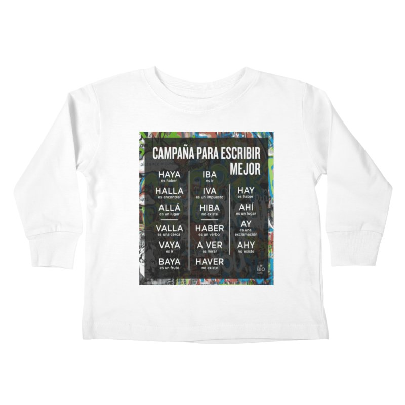 Escribir Mejor Kids Toddler Longsleeve T-Shirt by TravsTs