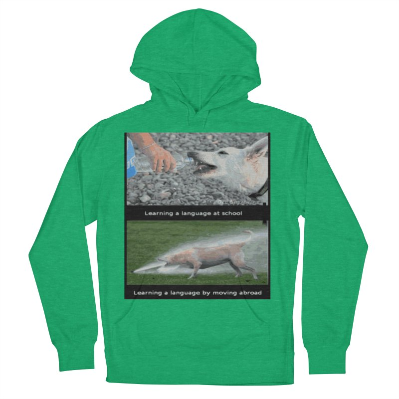 Learning Languages Men's Pullover Hoody by TravsTs