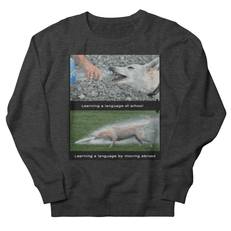 Learning Languages Men's Sweatshirt by TravsTs
