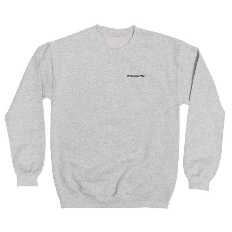 White Sweatshirt Women's Sweatshirt by Treblemonsters Shop