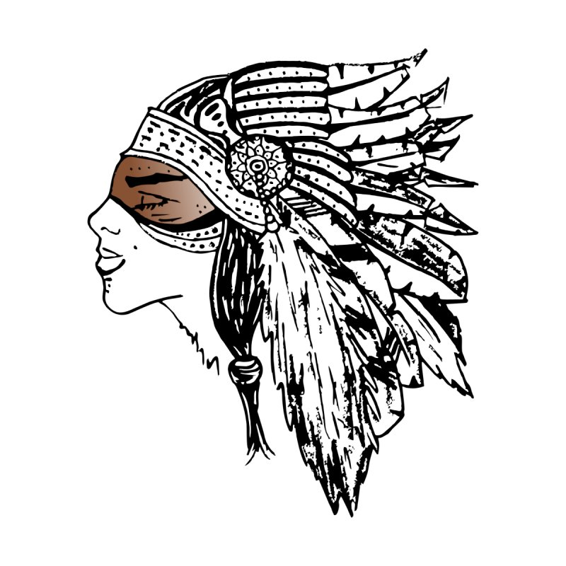 "3d Retro Native American by Trend""69 Inc"