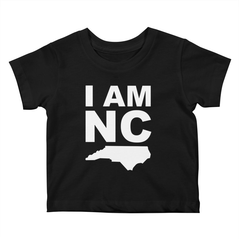 I AM NC Kids Baby T-Shirt by Tribe of the Infinite