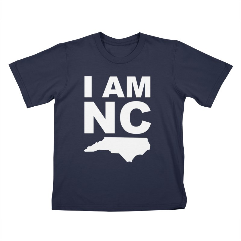 I AM NC Kids T-Shirt by Tribe of the Infinite