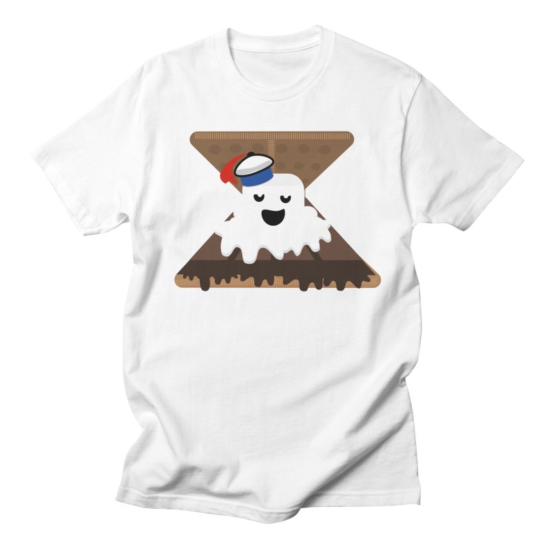 Mr. Now S'Mores in Men's T-shirt White by Tribe of the Infinite