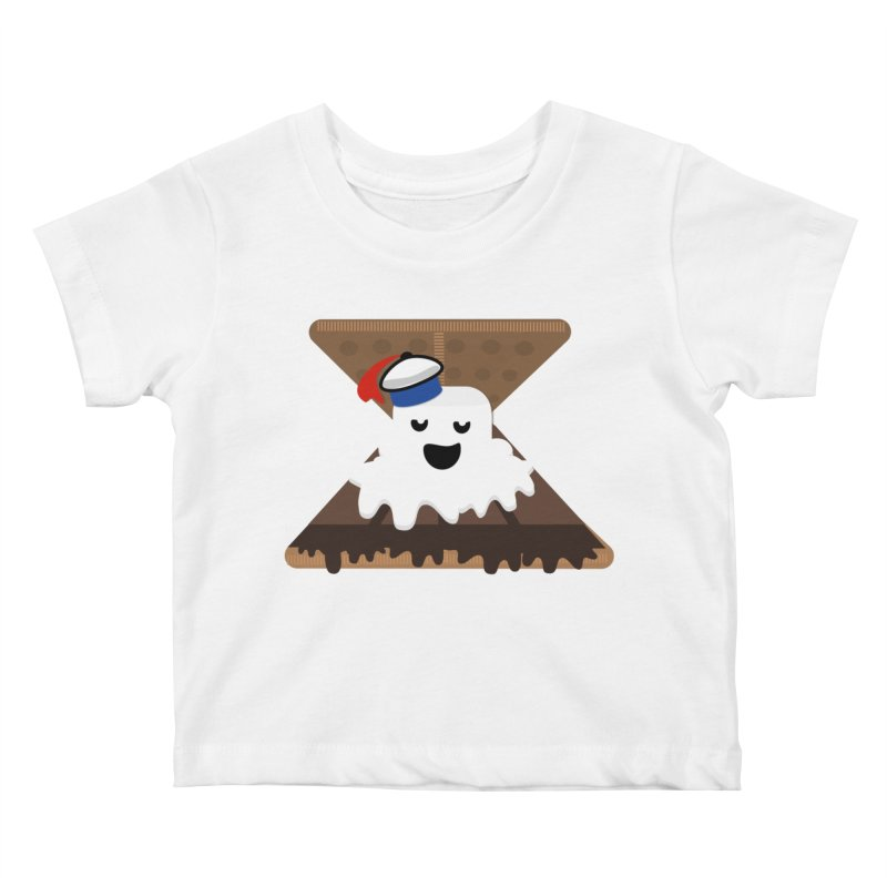 Mr. Now S'Mores Kids Baby T-Shirt by Tribe of the Infinite