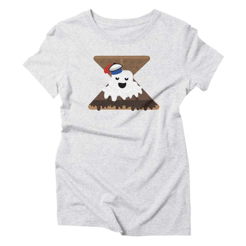 Mr. Now S'Mores Women's Triblend T-shirt by Tribe of the Infinite