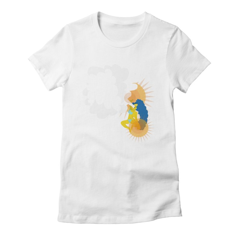 Mother of the Elements Women's Fitted T-Shirt by Tribe of the Infinite