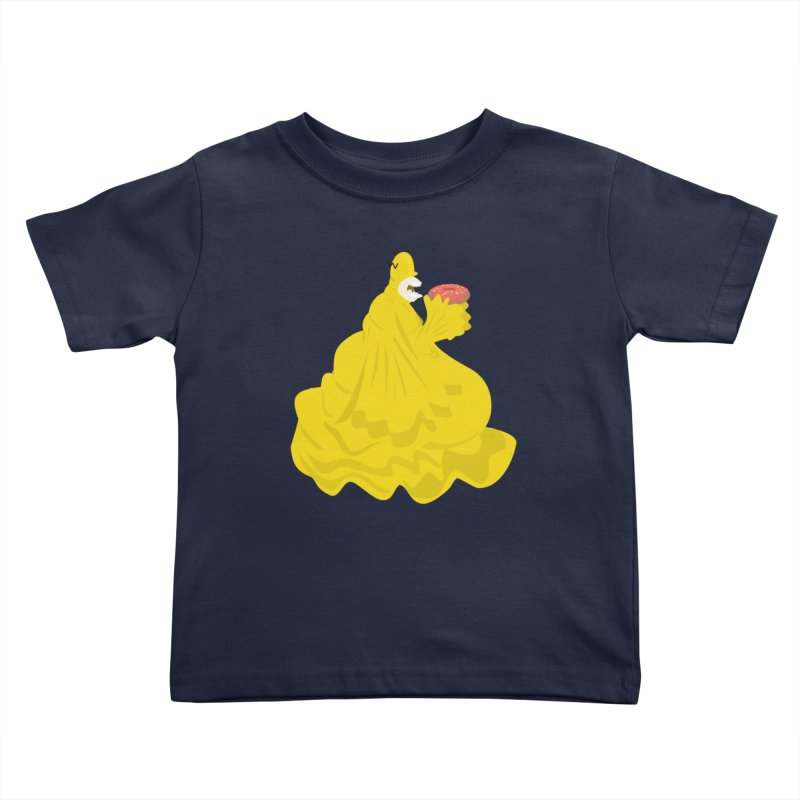 Doh'Nut Destroyer Kids Toddler T-Shirt by Tribe of the Infinite
