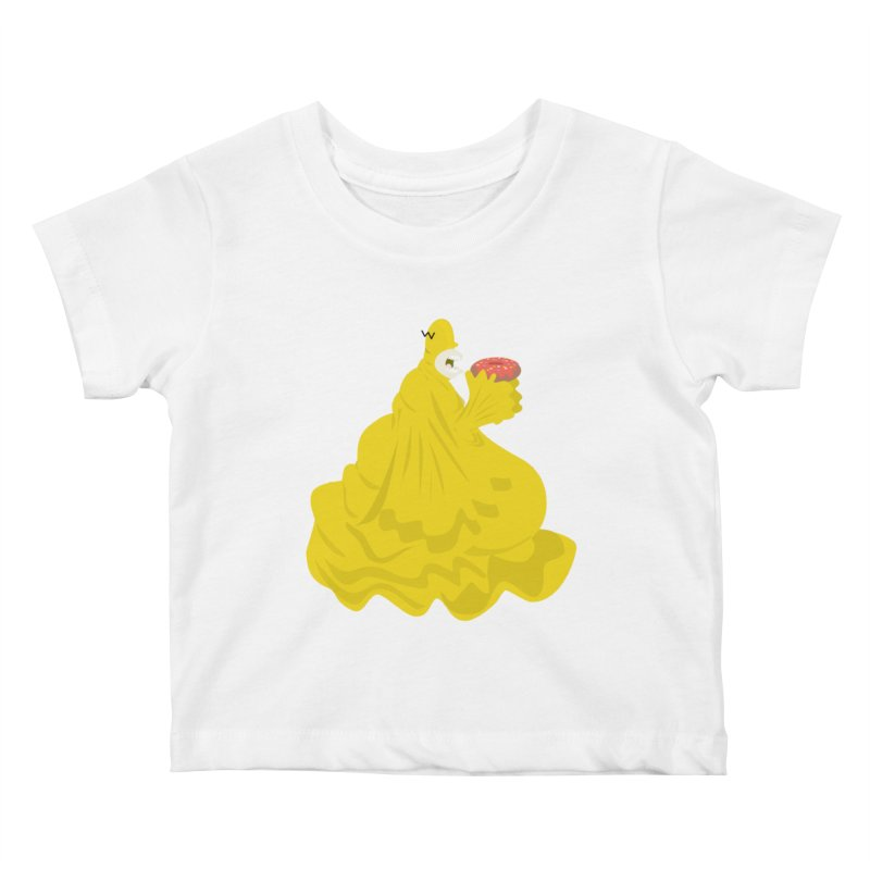 Doh'Nut Destroyer Kids Baby T-Shirt by Tribe of the Infinite