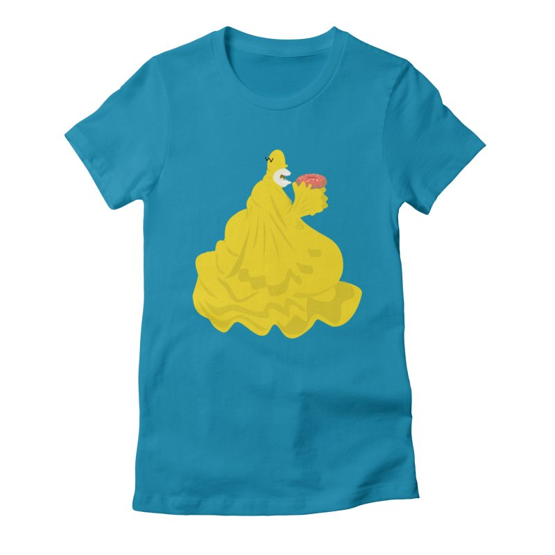 Doh'Nut Destroyer Women's Fitted T-Shirt by Tribe of the Infinite