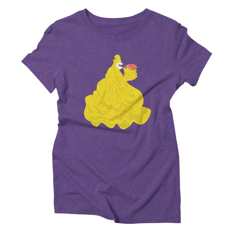 Doh'Nut Destroyer Women's Triblend T-shirt by Tribe of the Infinite