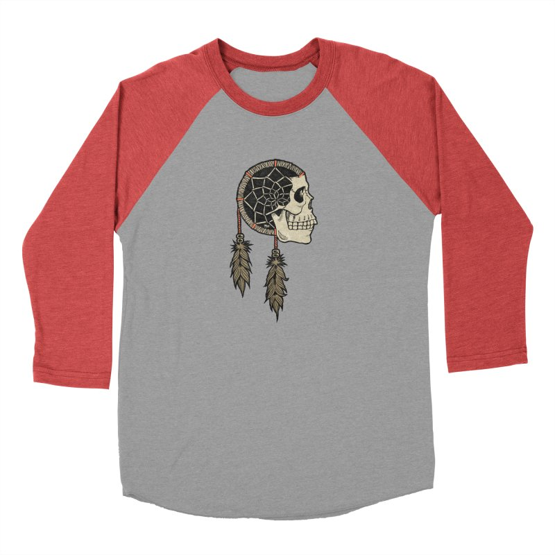 Nightmare Catcher Men's Baseball Triblend Longsleeve T-Shirt by Tripledead Shop