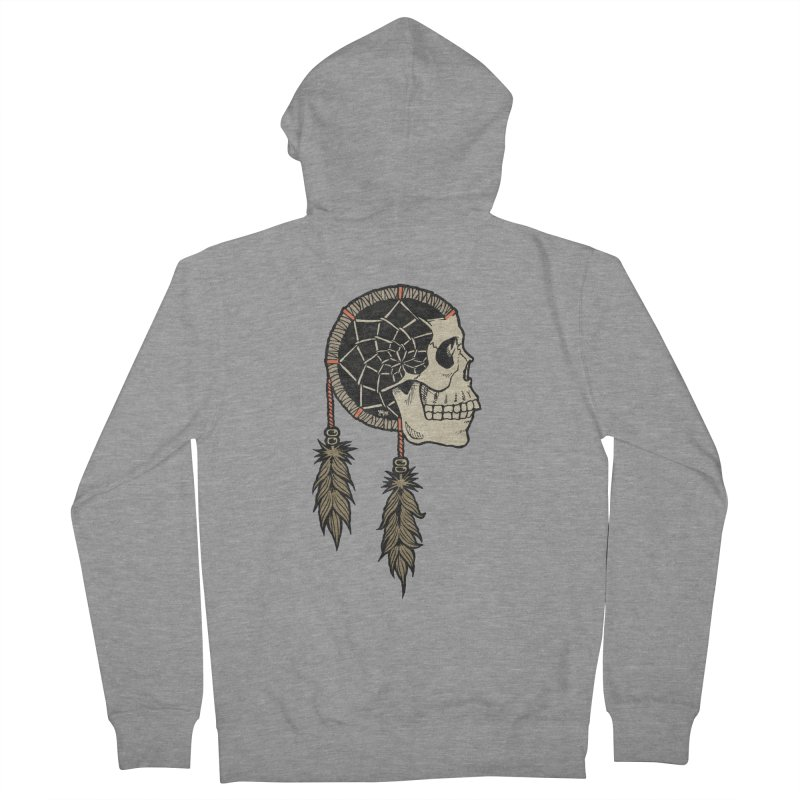 Nightmare Catcher Women's French Terry Zip-Up Hoody by Tripledead Shop
