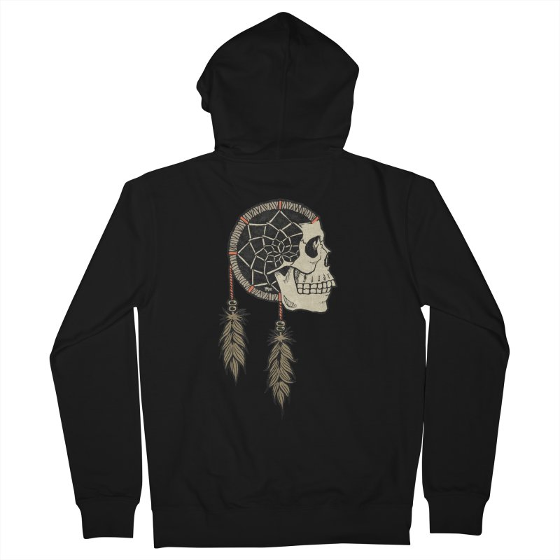 Nightmare Catcher Men's French Terry Zip-Up Hoody by Tripledead Shop