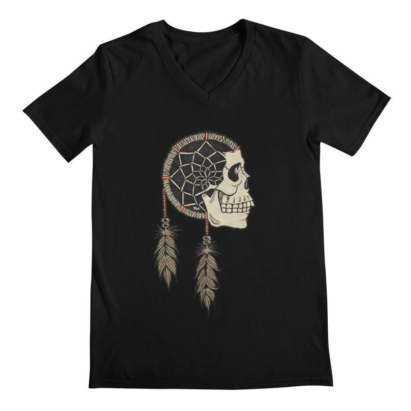 Nightmare Catcher Men's Regular V-Neck by Tripledead Shop
