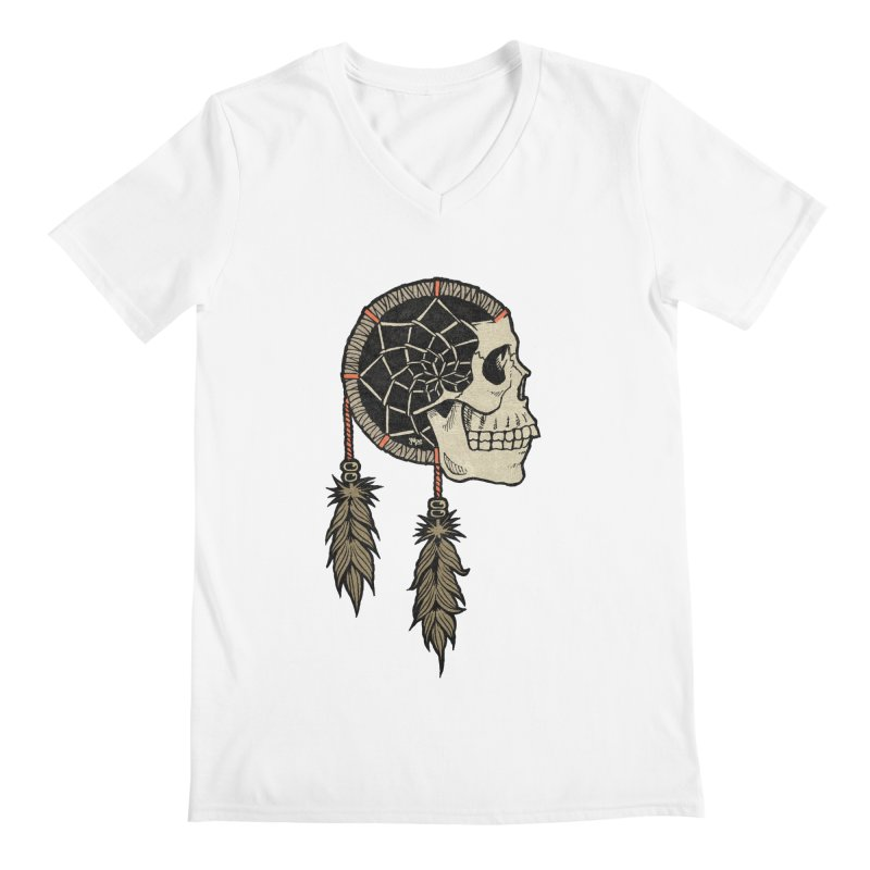 Nightmare Catcher Men's V-Neck by Tripledead Shop