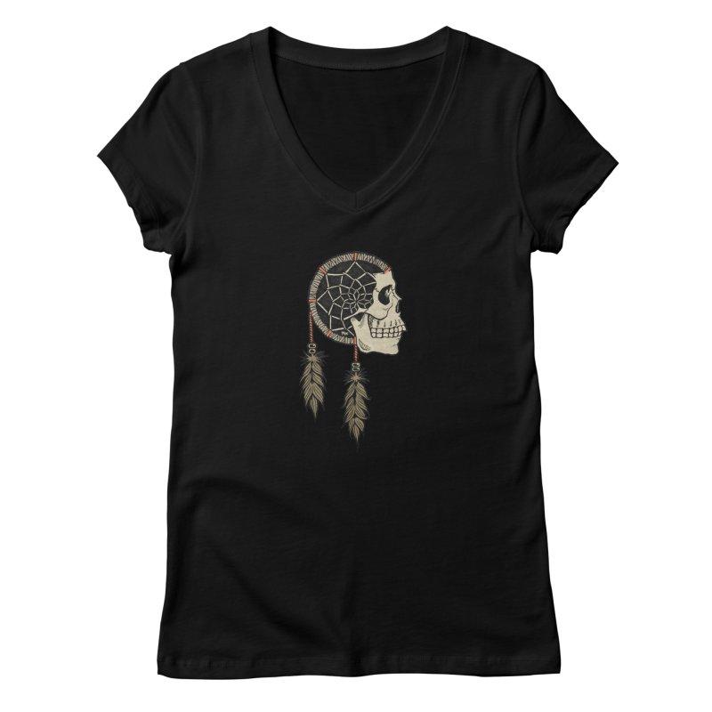 Nightmare Catcher Women's V-Neck by Tripledead Shop