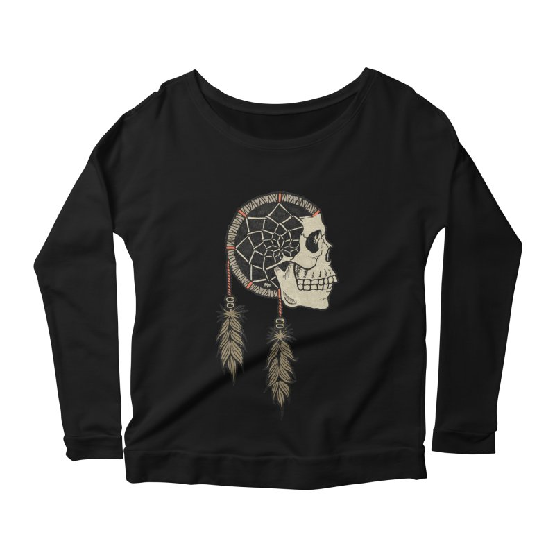Nightmare Catcher Women's Scoop Neck Longsleeve T-Shirt by Tripledead Shop