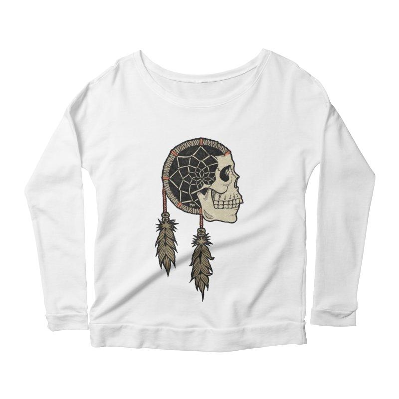 Nightmare Catcher Women's Scoop Neck Longsleeve T-Shirt by Tripledead Shop