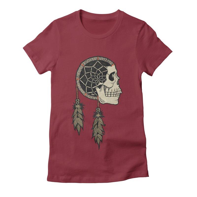 Nightmare Catcher Women's Fitted T-Shirt by Tripledead Shop